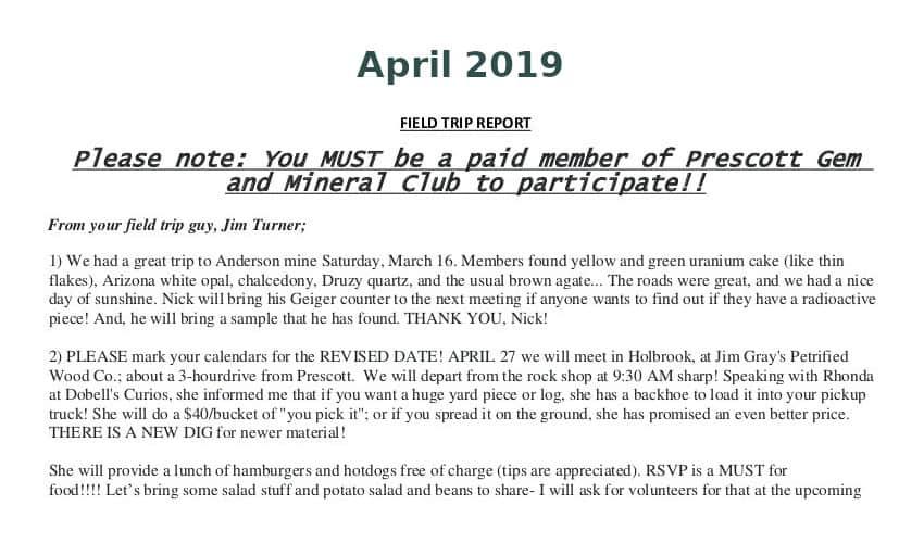 Apr 2019 Field Trip Thumb