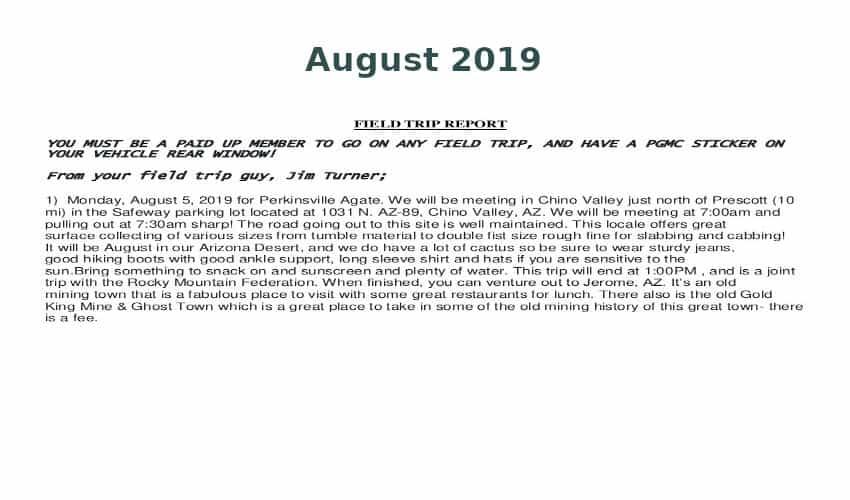 Aug 2019 Field Trip Thumb