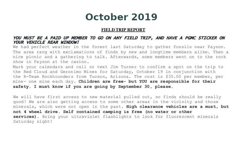 Oct 2019 Field Trip Thumb