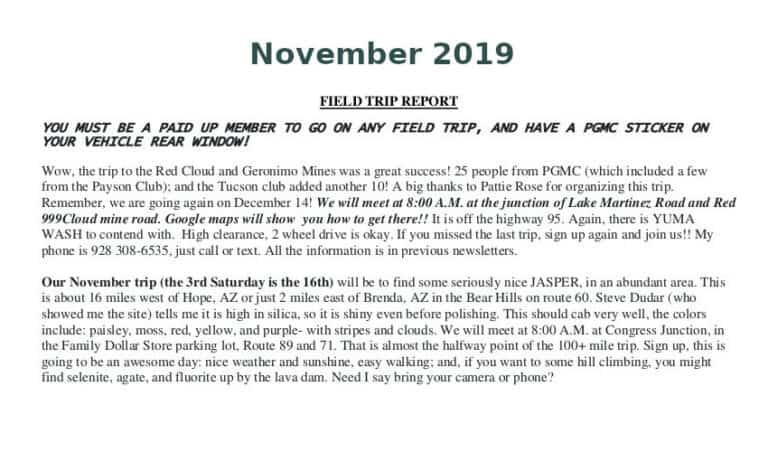 Nov 2019 Field Trip Thumb