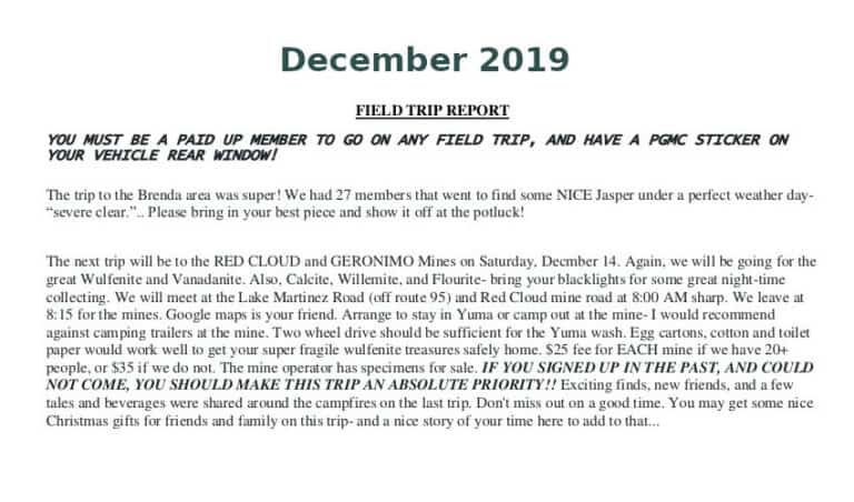 Dec 2019 Field Trip Thumb