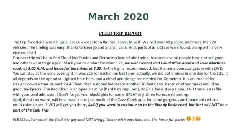 Mar 2020 Field Trip Thumb