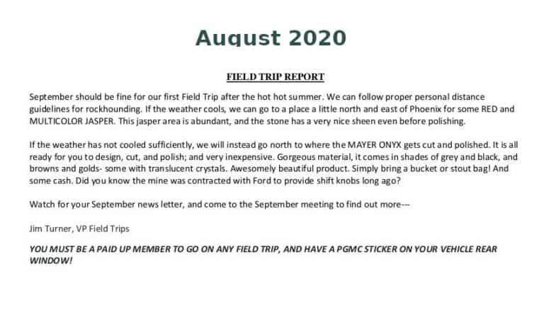 Aug 2020 Field Trip Thumb