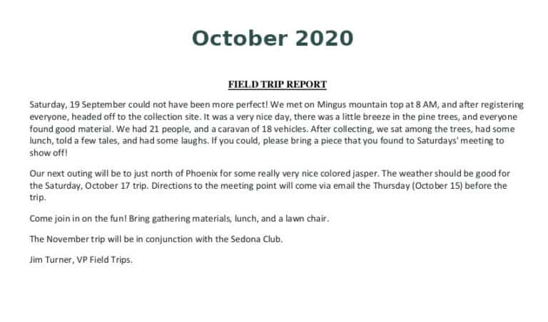 Oct 2020 Field Trip Thumb