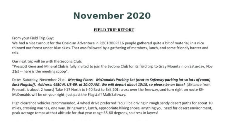 Nov 2020 Field Trip Thumb
