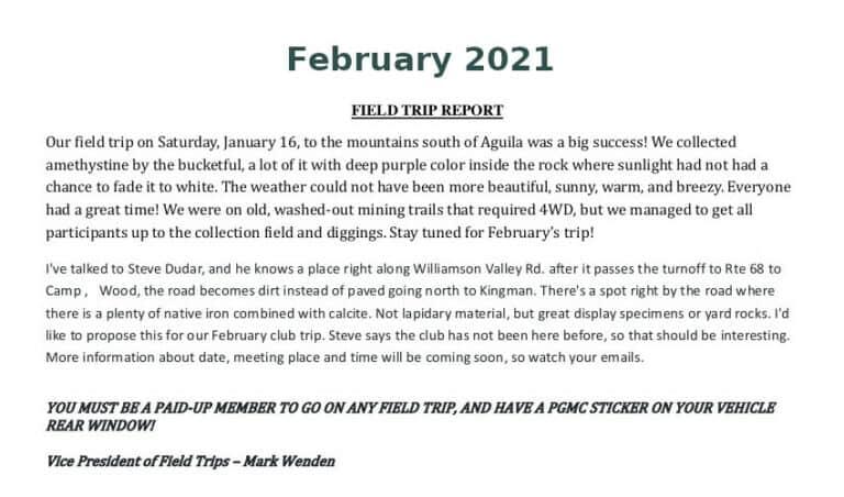 Feb 2021 Field Trip Thumb