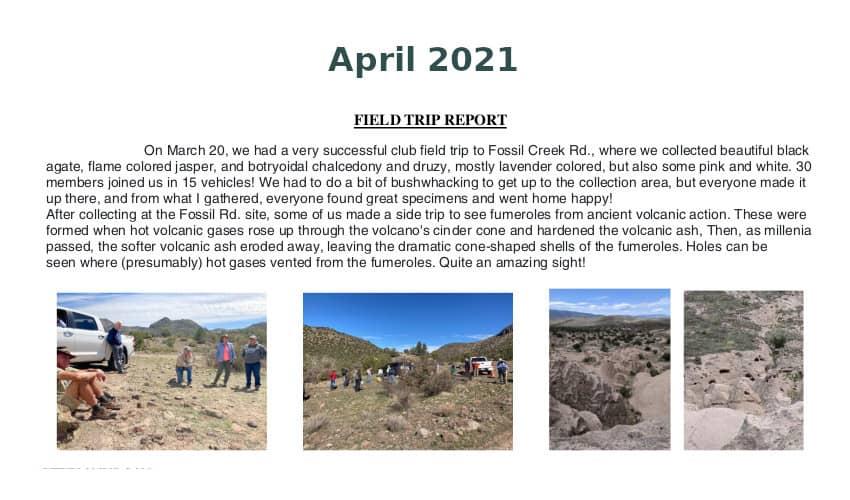 April 2021 Field Trip Thumb