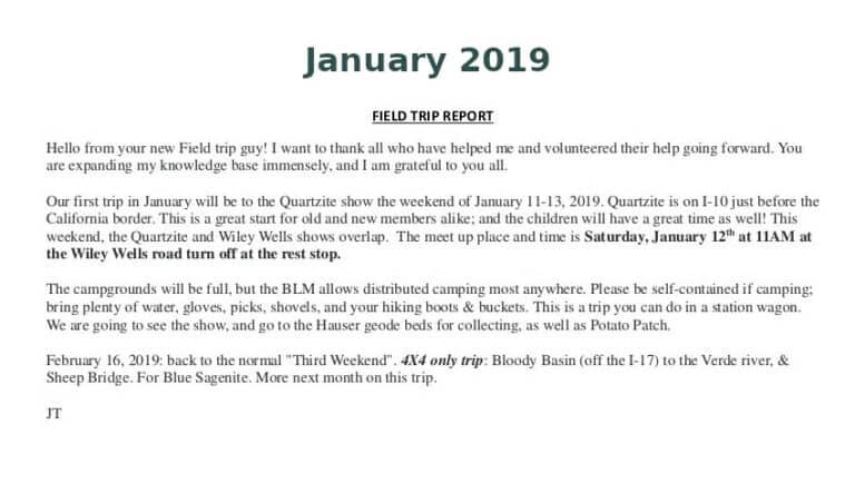 Jan 2019 Field Trip Thumb