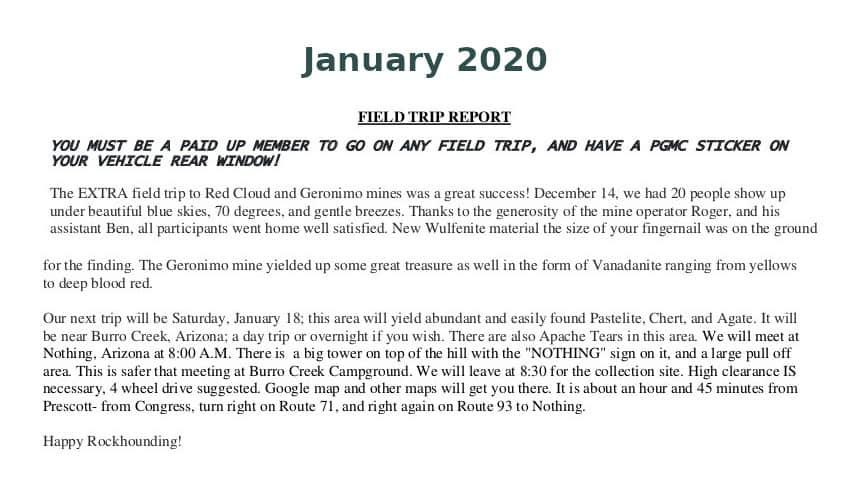 Jan 2020 Field Trip Thumb