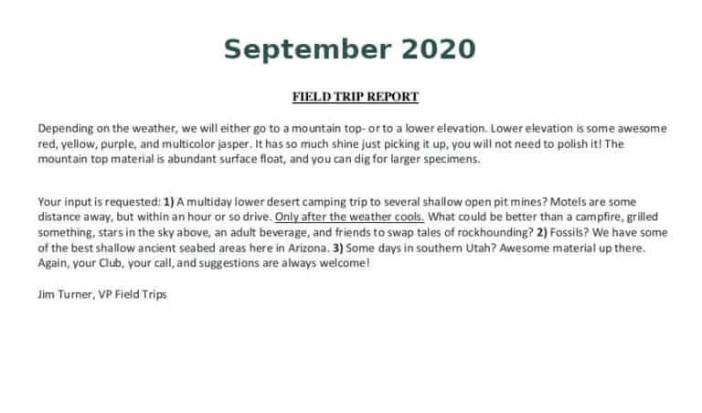 Sep 2020 Field Trip Thumb